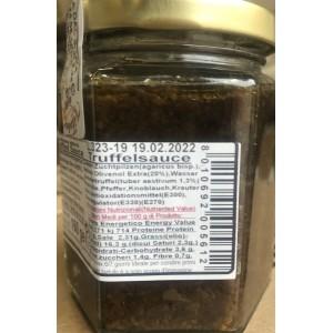Filotei Sauce Truffe Huile d'Olive Extra Vierge 160gr