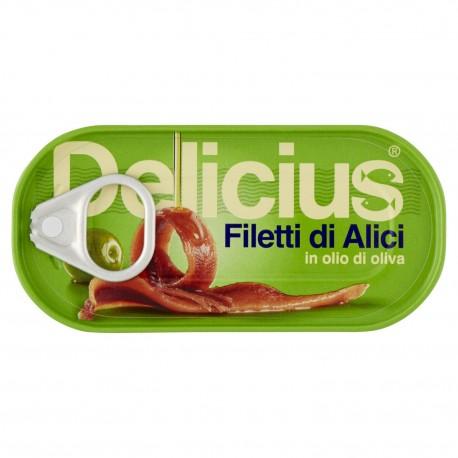Filetti di Alici Tesi Delicius -...