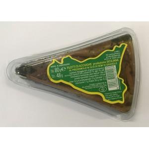 Sardellenfilets mit Petersilie in Sonnenblumenöl - Packung mit 80gr