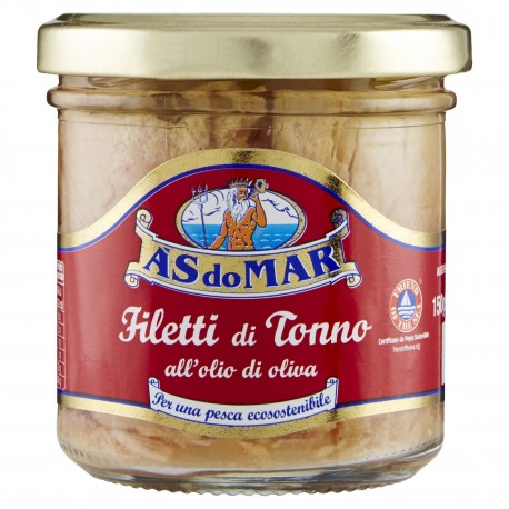 Filetti di Tonno As Do Mar all'Olio...