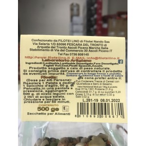 Filotei Légumineuses Minestrone - Paquet de 500gr