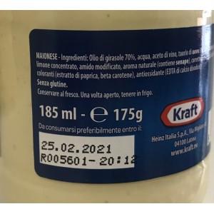 Mayonnaise Classique - Pot de 186gr
