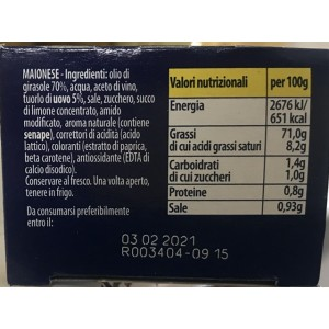 Mayonnaise Classica - Tubo da 142gr