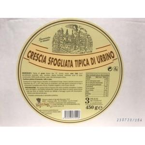 Crescia Sfogliata Tipica di Urbino - 450gr