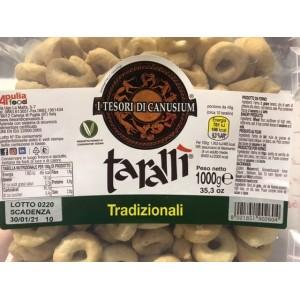 Taralli Cè Taràdd Traditionnel Apulia 1Kg