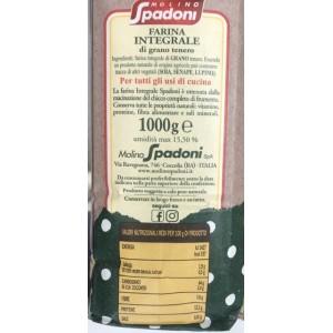 Farina integrale Spadoni - 1kg