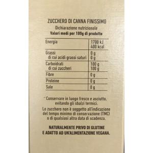Zucchero di Canna Zefiro Eridania - Confezione da 750gr