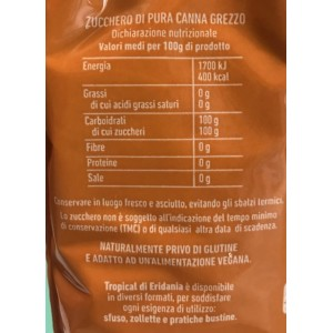 Zucchero di Canna Tropical Cassonade - Confezione da 1kg