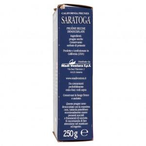 Prunes séchées Saratoga Santa Clara dénoyautées - Paquet de 250 gr
