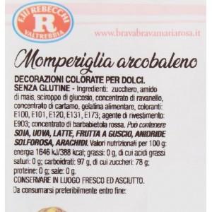 Momperiglia Arcobaleno Rebecchi - Busta da 40 gr