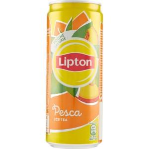 Tè Lipton alla Pesca - Lattina da 33 cl