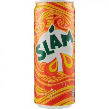 Aranciata Slam - Lattina da 33 cl