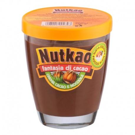 Nutkao Crema da Spalmare Cacao e Nocciole Senza Glutine - 200 g