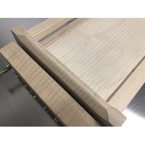 Guitare en bois pour pâtes outil de cuisine spaghetti fettuccine tonnarelli