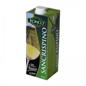 Vino Bianco San Crispino - Brick da 1 Litro