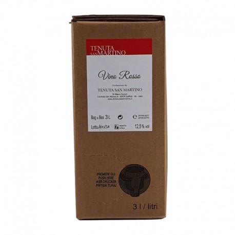 Vino Rosso San Crispino Bag in Box - 3 Litri