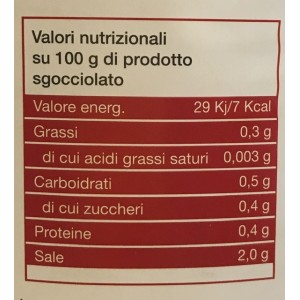 Insalatina Julienne Lady Chef - Latta da 2,65 Kg