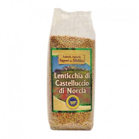Lentilles de Castelluccio di Norcia IGP Sapori dei Sibillini 500gr