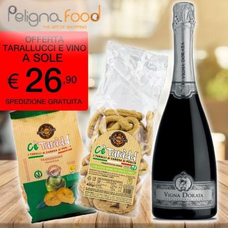 Offre Vigna Dorata Satèn + Taralli et...
