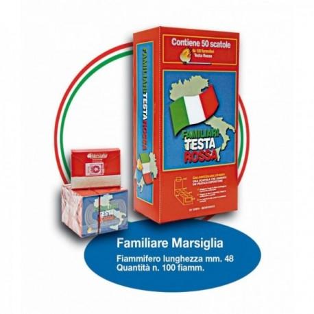 Fiammiferi Familiari Marsiglia Testa...