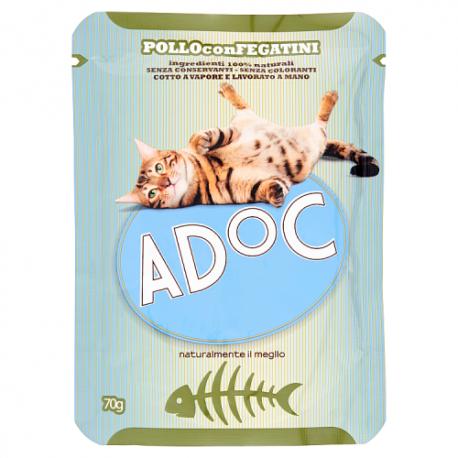 ADoC Cat Gatto Pollo con Fegatini -...