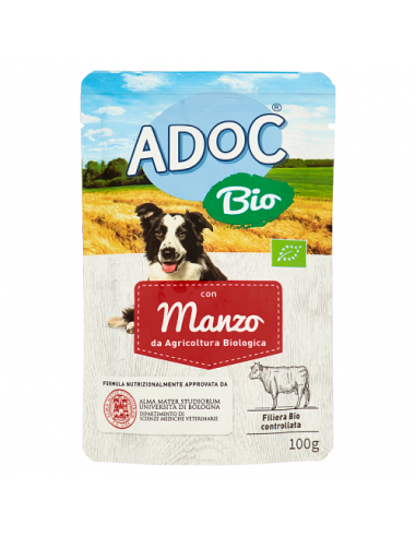 ADoC Bio Dog Cane Manzo - Box da 12...