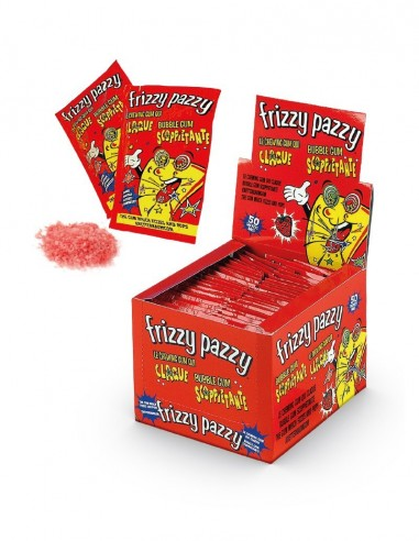 Frizzy Pazzy Bubble Gum Arôme Fraise...