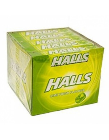 Caramelle Halls Lime Senza Zucchero -...