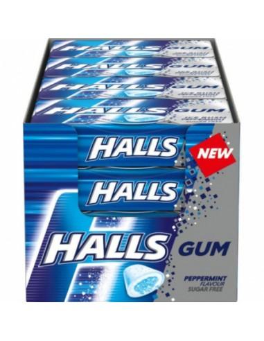 Chewing Gum Halls Gum Peppermint -...