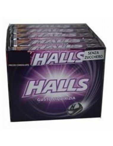 Bonbons à la réglisse sans sucre Halls