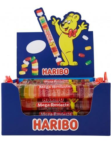 Haribo Mega Roulette Fruits gommeux -...