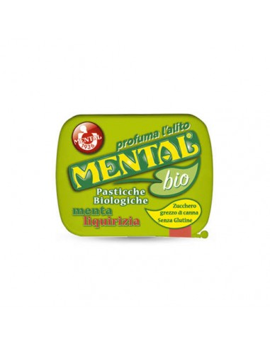 Caramelle Mental Biologiche Menta e...