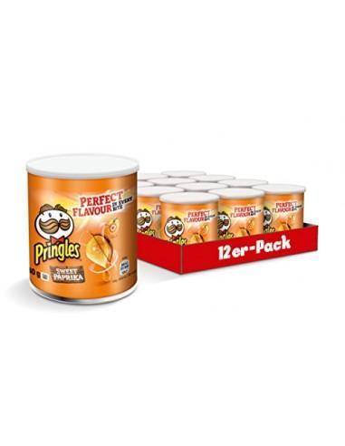Pringles saveur Paprika - 12 pièces x...