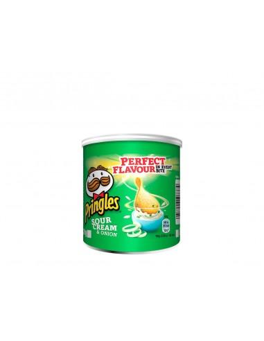 Pringles Chips Crème & Oignon - 12...