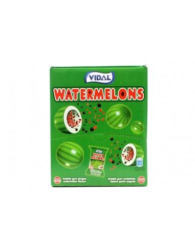 Vidal Watemelons Balls Bubble Gum -...