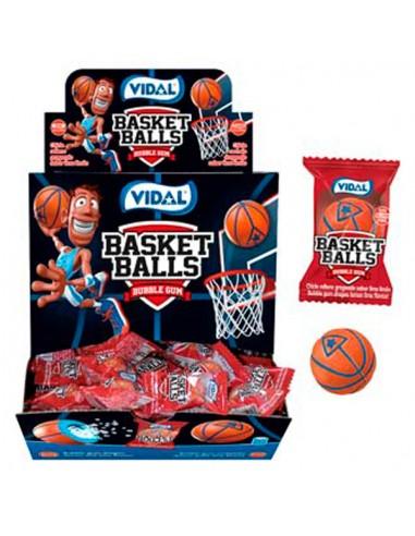 Vidal Basket Balls Bubble Gum - Box...