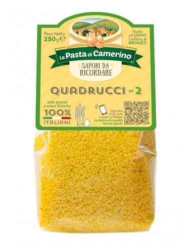 Pasta Di Camerino Quadrucci n°2 Pâtes...
