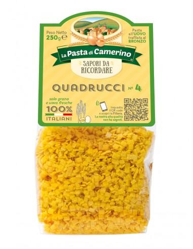 Pasta Di Camerino Quadrucci n°4 Pâtes...