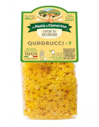 Pasta Di Camerino Quadrucci n°7 Pâtes...