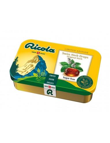 Ricola Sucre - 12 paquets en boîte de...
